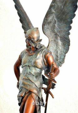 Exclusive Groebronze Signed Jules Felix Coutan On Marble Base