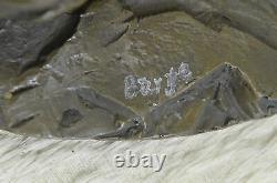 Figure Bronze Sculpture Statue Unique Signed Bust Horse Head Marble Sale