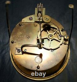 Napoleon III Pendulum In Marble And Bronze Mollard In Grenoble-signed Pickart