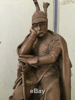 Pendulum Marble And Bronze Sculpture Signed T. Gechter Second Empire