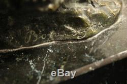 Sculpture / Bronze / Marble / Bally / Fine'800 Début'900 / Signed