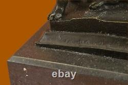 Signed Giambologna Viol Of The Sabine Woman Bronze Marble Mythic Base Figurine