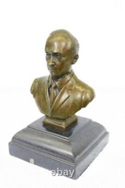 Signed Original Vladimir Putin Bronze Bust Statue Marble Sculpture Figure