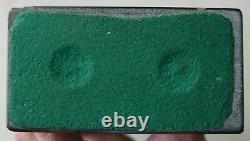 Rare bronze signé MAX LE VERRIER BEETHOVEN ART DECO 18 cm 1kg16