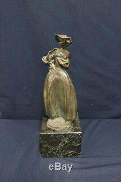 Sculpture/Bronze/Marbre / Bally / Fine'800 Début'900 / Signé