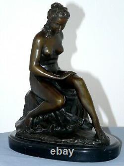Très beau nu en bronze signé C Allegrain