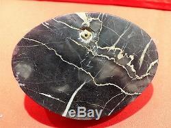 Vide poche marbre et bronze de vienne pierrot haut 7 larg 11.5 prof 8.5